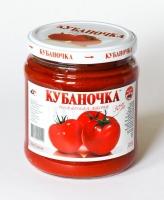 Томат паста Кубаночка 500 г ст/б 1/12