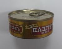 """Паштет печёночный БЕКОН 100 гр, ключ, 1/24 """"Кусокъ"""""""