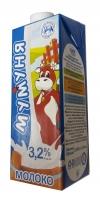 """Молоко """"Мумуня"""" 3,2% 0,930 л 1/12"""