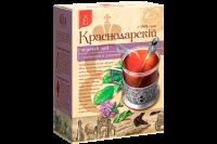 "Чай чёрный ""Краснодарский"" чабрец+душица 100 гр 1/24"