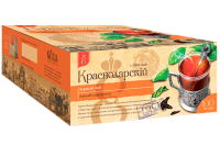 "Чай чёрный ""Краснодарский"" (100 пак.*1,7 гр) с/яр 1/12"