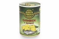 Оливки тунец Золото Глобуса 300 г ж/б 1/12
