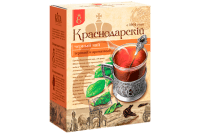 """Чай чёрный """"Краснодарский""""крупнолистовой 200 гр 1/24"""
