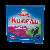 Кисель Кулинар чёрная смородина брикет 220 г 1/30