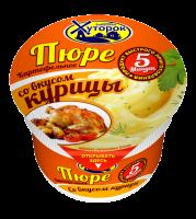 "Пюре картофельное со вкусом курицы ТМ ""Бабушкин Хуторок"" 40 гр 1/24"