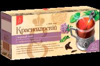 """Чай чёрный """"Краснодарский"""" чабрец+душица (25 пак.*2 гр) с/яр 1/24"""
