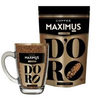 Кофе Максимус кружка с кофе 70 г  ДОРО