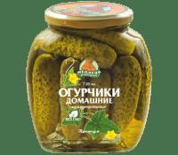 Огурцы М.Л. домашние 720 мл ст/б 1/12