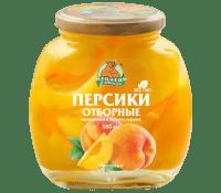 Компот Персик М.Л. 580 мл ст/б 1/12