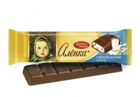 Шоколад батончик Алёнка молоко-злаки 45 гр 1/20