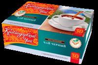 "Чай чёрный ""Краснодарский"" бергамот (30 пак.*2гр) б/яр 1/24"