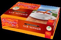 """Чай чёрный """"Краснодарский"""" (90 пак.*2 гр) б/яр 1/12"""