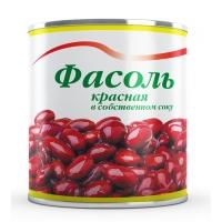 Фасоль красная  в собственном соку Красная Линия 400г ж/б 1/15