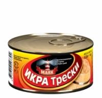 Икра трески ключ МАЯК 125 г ж/б 1/36