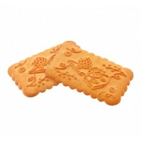 Печенье сливочное, Земляника со сливками 1/5 кг