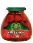 Компот Клубника в сиропе Золотой Глобус 580 мл ст/б 1/12