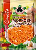 Дой-Пак Морковь по корейски Острая Жар Востока 500 г 1/10