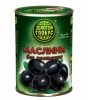 Маслины без косточки Золото Глобуса 300 гр. ж/б 1/12