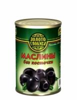 Оливки без косточки Золото Глобуса 300 г ж/б 1/12