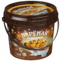 Сгущёнка варёная Белая Слада 950 гр. ведро1/6
