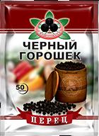 Перец черный ГОРОШКОМ Жар Востока 50 г 1/80