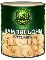 Шампиньоны резаные Золотой Глобус 3 кг ж\б 1/6